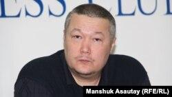 Журналист Рафаэль Балгин. Алматы, 12 қаңтар 2015 жыл.