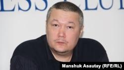 Журналист Рафаэль Балгин. Алматы, 12 января 2016 года.