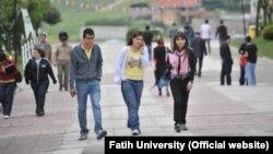 """Студенты университета """"Фатих""""."""