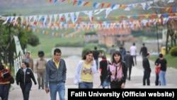 Фатих университетинин студенттери. Түркия