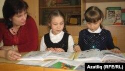 Урок татарского языка в Удмуртии. Архивное фото