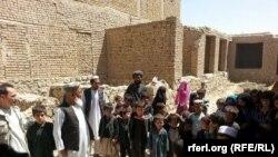 Familjet e zhvendosura në provincën Fariab në Afganistan