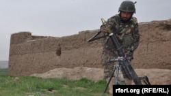 Военнослужащий армии Афганистана. Иллюстративное фото.