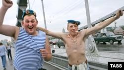 Так празднуют десантники свой день в Москве