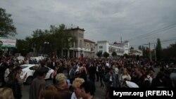 Парад в честь празднования 9 мая, Керчь, 2014
