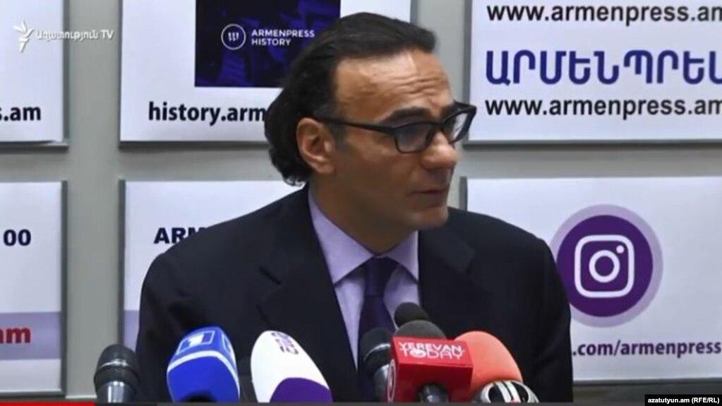 АРМЕНИЯ: Главный советник премьер-министра Армении Арсен Гаспарян освобожден от занимаемой должности