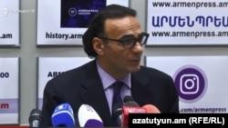 Советник премьер-министра Армении Арсен Гаспарян, 5 октября 2018 г.