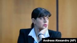 Laura Codruța Kovesi, pe vremea când conducea DNA.