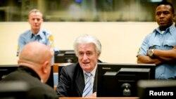Радован Караджич в Международном трибунале, 24 марта 2016