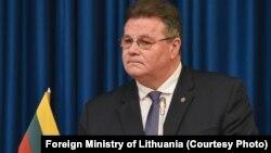 لیناس لینکهویچیوس، وزیر خارجه لیتوانی