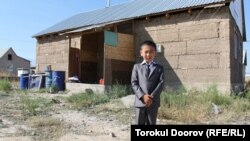 A file photo taken at the Ak-Ordo settlement near Bishkek