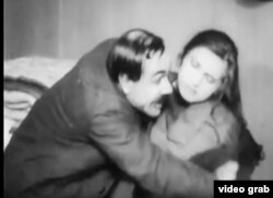 """Кадр зь беларускага фільму """"Прыстытутка"""", 1926 год"""