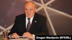 Молдова президенті Николае Тимофти Азаттық кеңсесінде отыр.