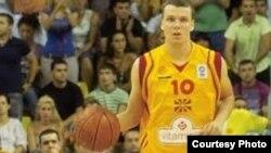 Александар Костоски, кошаркар.