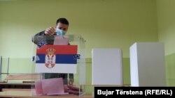 Votimi në Graçanicë.
