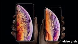 iPhone XS ва iPhone XS Max.