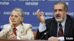 Мустафа Джемілєв та Рефат Чубаров