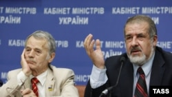 March 24: European Parliament holds a debate with Crimean Tatar Mejlis movement leader Refat Chubarov, Crimean Tatar leader Mustafa Dzhemilev, and members of the Ukrainian parliament on Crimea's militarization and security situation.