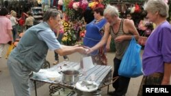 Беларусь: Раздача бясплатных абедаў бедным