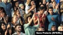 Skup mladih u Podgorici, fotoarhiv