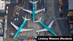 Boeing 737 MAX учқичлари парвози бутун дунë бўйлаб тўхтатилган.