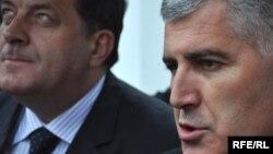 Milorad Dodik i Dragan Čović
