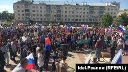 Антикоррупционный митинг 12 июня в поселке Юдино