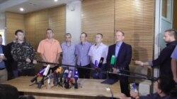 Donbas Separatists Release Four Ukrainians In Minsk