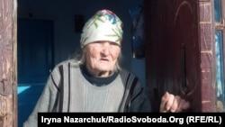 Ганна Січко з села Дмитрівка