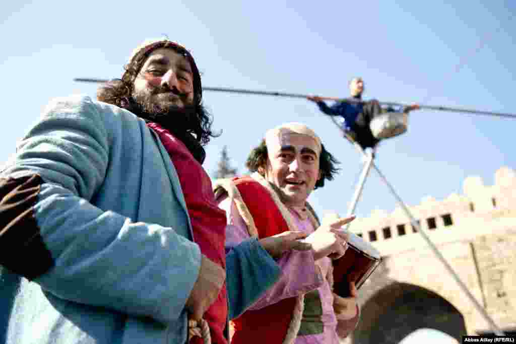 Celebration of Norouz in Baku
