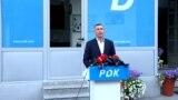 Kosovo: Leader of Democratic Party of Kosovo, Kadri Veseli.