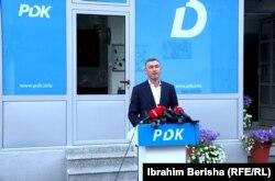 Kadri Veseli, lider al Partidului Democratic din Kosovo