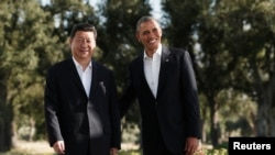 U.S. President Barack Obama and Chinese President Xi Jinping are holding an informal summit in California.