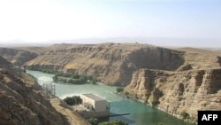 The Kajaki dam in Helmand.