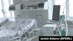 Больница в Баткенской области. Архивное фото.