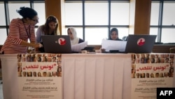 جانب من الإنتخابات التونسية التي أجريت في 23 تشرين أول 2011