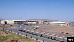 Iran's uranium-enrichment complex at Natanz in central Iran -- a target for an imminent Israeli bombing?