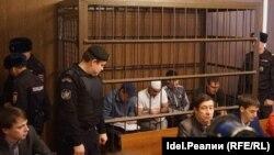 """Подсудимые по делу делу """"Чистопольского джамаата"""""""