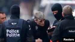Обыски в брюссельской коммуне Схербек в пятницу, 25 марта