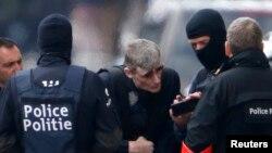 Полиция на улицах Брюсселя
