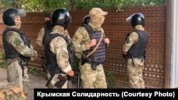 Обшук у будинках кримських татар у Криму 7 липня 2020 року