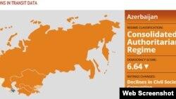 Keçid Dövründəki Ölkələr - interaktiv xəritə və hesabat