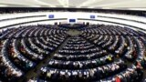 FRANCE – Plenary hall of European parliament in Strasbourg, April 16, 2013