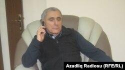 Народный артист Азербайджана, ханенде (исполнитель мугамов) Алим Гасымов в редакции РадиоАзадлыг, 8 марта 2012