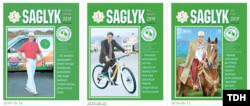 """""""Saglyk"""" žurnaly prezidentiň suraty bolmasa çykmaýar."""
