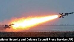 Испытания украинских ракет по программе «Нептун» на военном полигоне в Одесской области, 5 декабря 2018 года