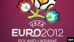 Футболдан 2012 жылғы Еуропа чемпионатының логотипі. Көрнекі сурет.