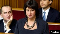 Ministrja e Financave e Ukrainës, Natalie Jaresko.