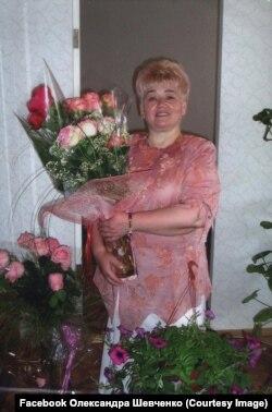 Олександра Шевченка, колишня директорка луганської гімназії
