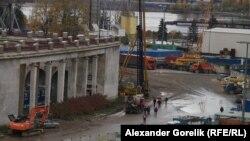 Возведение нового футбольного стадиона в Санкт-Петербурге